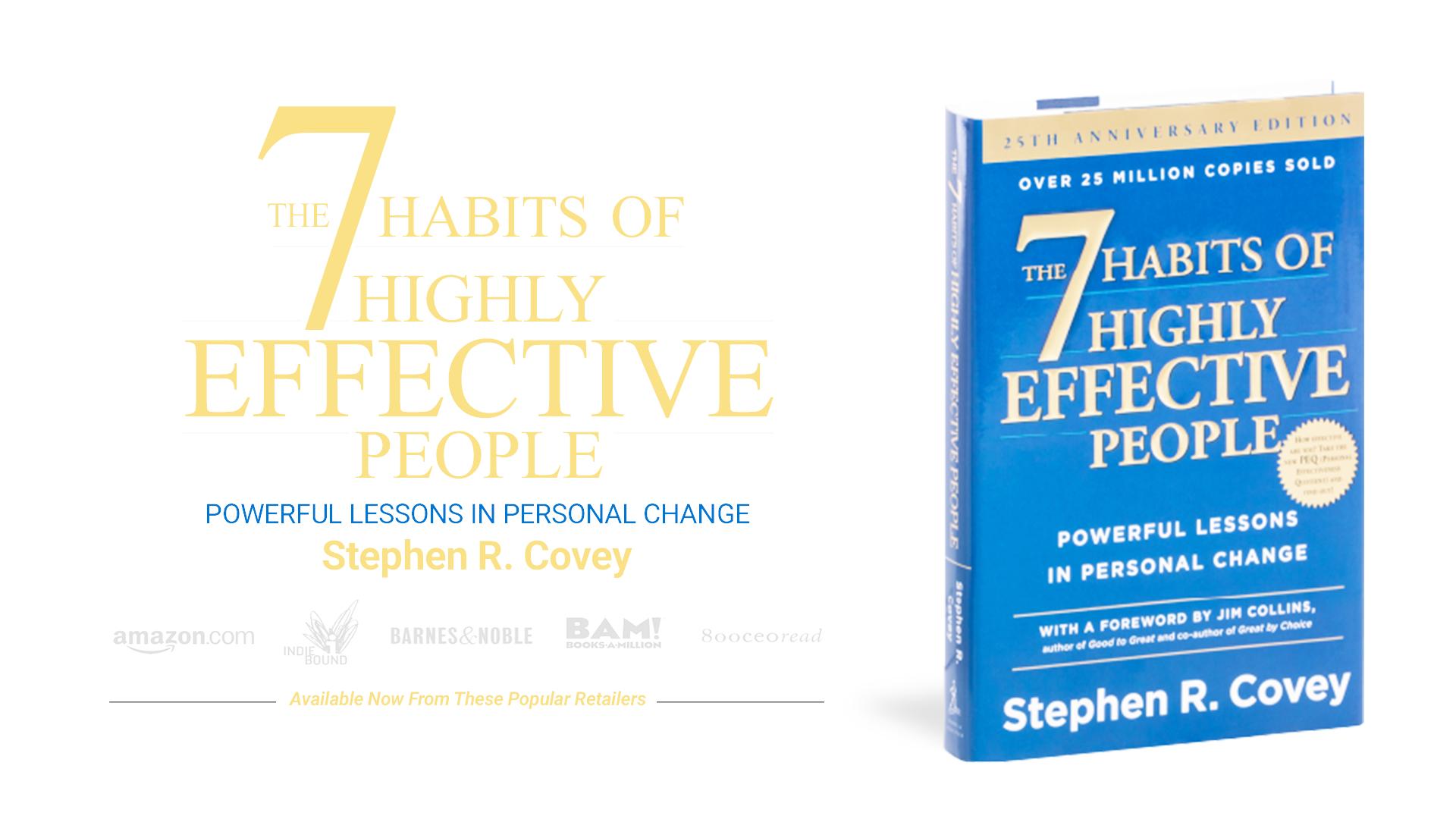 Os 7 Hábitos das Pessoas Altamente Eficazes 4.0